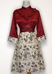 Model Baju Batik Untuk Pesta Modern Terbaru