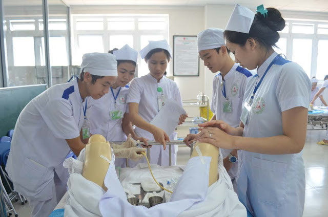 Tuyển sinh Đại học Điều dưỡng năm 2017
