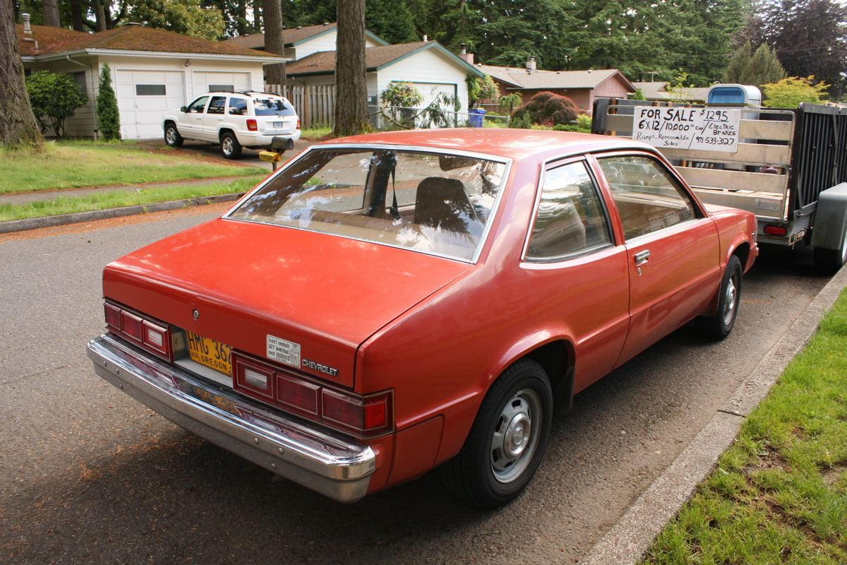 Old Parked Cars 1982 Chevrolet Citation Notchback Coupe