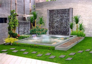 Rumah minimalis modern niscaya mempunyai sisa lahan kecil di bab luar yang sebetulnya bis 19  Photo Desain Taman Minimalis Untuk Rumah Bernuansa Modern