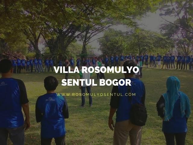 Daftar Harga Paket Villa Roso Mulyo Sentul Bogor [2017]