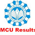 MCU Makhanlal Result 2017 - 2018 PGDCA DCA BCA Result