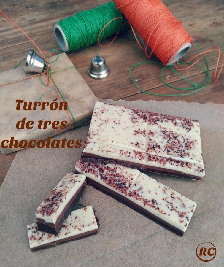 TURRÓN-DE-TRES-CHOCOLATES-SIN-FRUTOS-SECOS-BY-RECURSOS-CULINARIOS