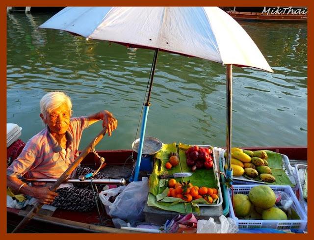 Amphawa, Thailande
