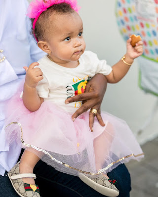 Photos Yvonne Nelson celebrates daughter Ryn's First birthday