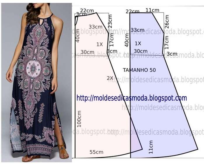 b5ca07fcdc6 Мастера и умники  Простые выкройки красивых летних платьев