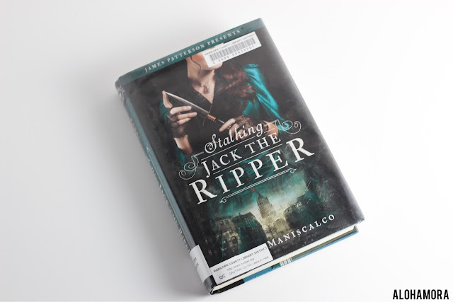 Stalking Jack the Ripper by Kerri Maniscalco gets 4.5 out of 5 stars in this historical fiction/mystery ya lit, young adult, teen read.  This book is fun, a fast read, and surprises you at the end.  There is some language, and the story about murders may be gruesome for some.  Alohamoraopenabook Alohamora Open a Book Great book. fast read. Fun book. Romance. Strong female character. first book in series, new book.  http://alohamoraopenabook.blogspot.com