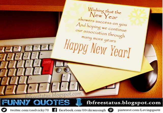 New Year Messages for Business, New Year Wishes for Business