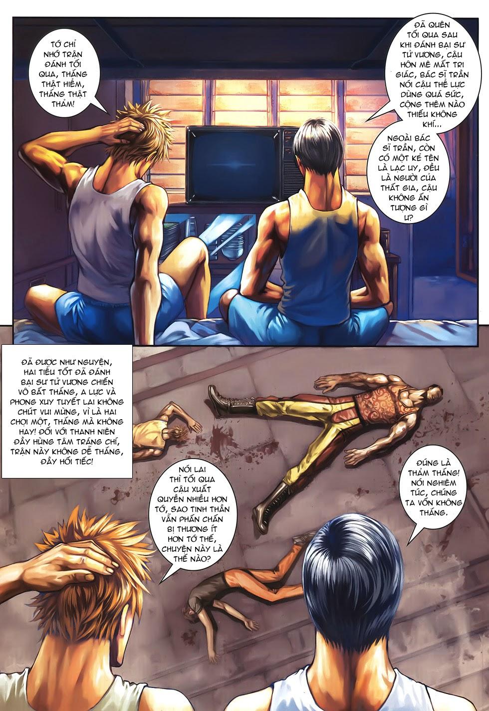 Quyền Đạo chapter 10 trang 19