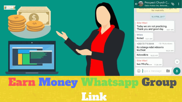 70+ Best Earn Money Whatsapp Group Link List For Unemployments