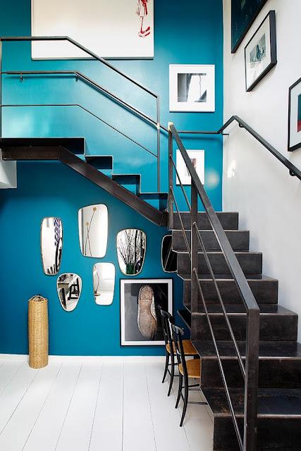 escalier style industriel