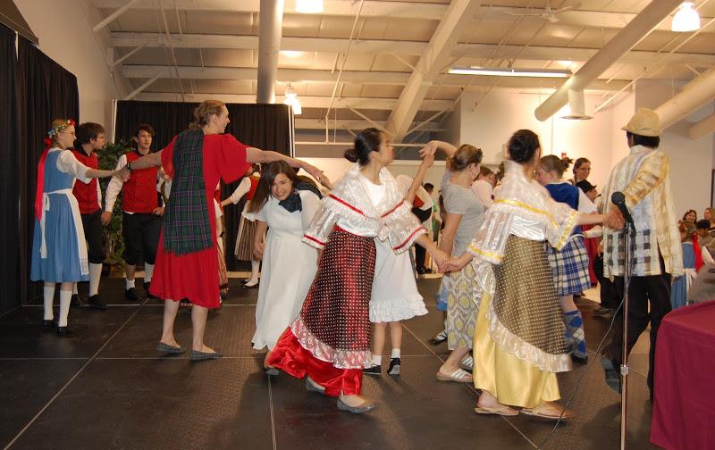 German Junior Folk Dancers: More
