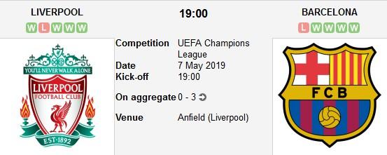 liverpool vs barcelona live