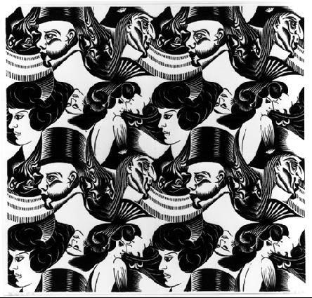 Oito Chefes - Escher, M. C. e suas geniais litogravuras
