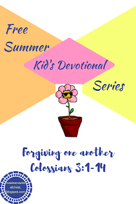 Free Devotional Series for Kids: Forgiveness Matters