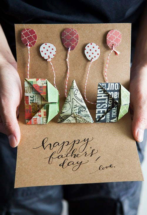 Origami Alphabet Letters Pop-Up Card Tutorial
