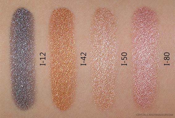 Make Up For Ever Aqua XL Color Paint I-12 I-42 I-50 I-80 Swatch
