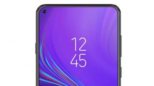 Galaxy A8s with camera hole in the display