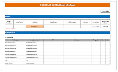 Download Formulir Excel Pendataan Dapodik Versi 2016/2017 SD, SMP, SDLB Dan SMA