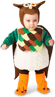 Lil' Hoot Owl Infant Costume for Halloween