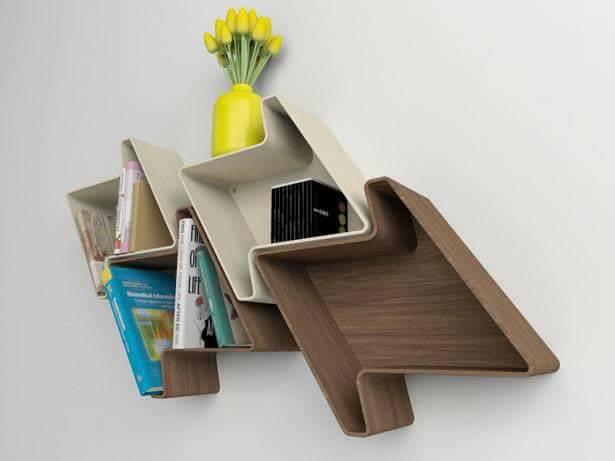 Modern Wall Shelf Ideas: Modern Decorative Wall Shelves & Shelf Brackets Ideas