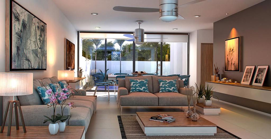 Casas en venta y departamentos casa modelo privada for Modelo sala comedor