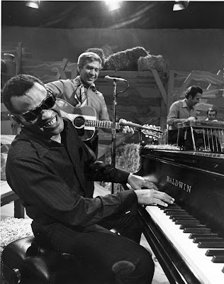 Ray Charles and Buck Owens