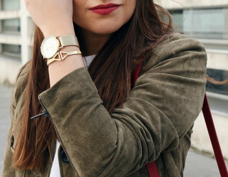 reloj radiant brazalete pippa jean blogger de moda leon