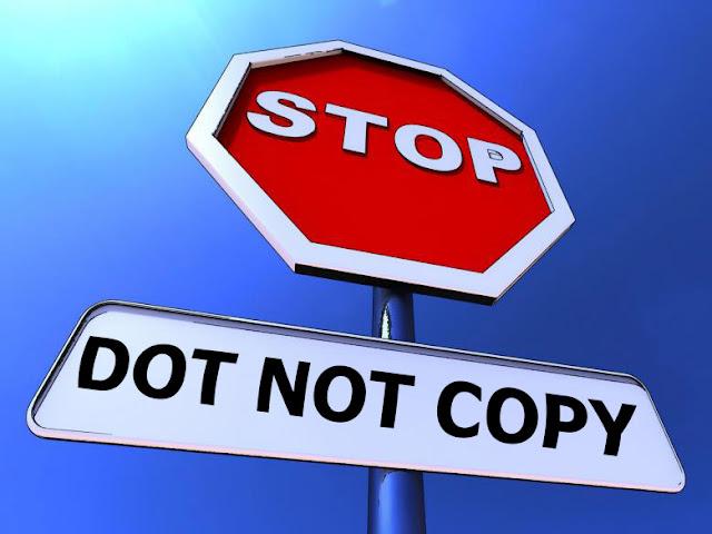 إلغاء نسخ المحتوى من المدونة