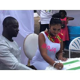 Photos Ghanaian Movie Star Chris Attoh remarries