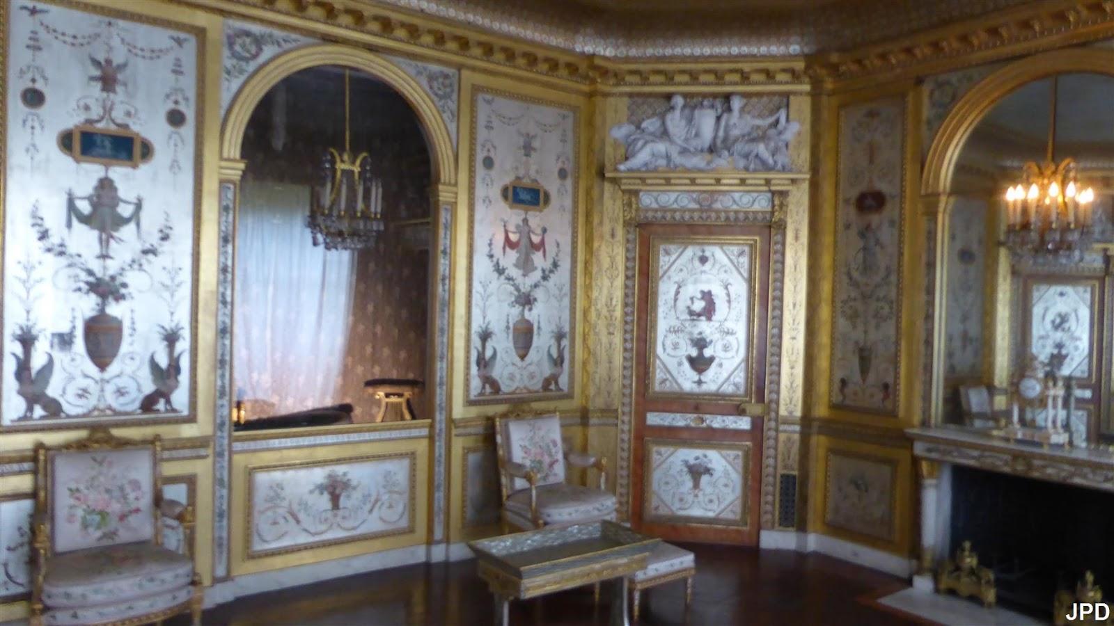 Paris-bise-art : Château de Fontainebleau (8) - Vers la chambre de ...