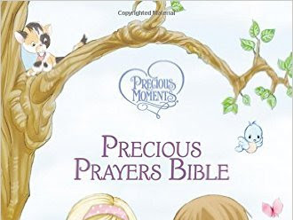 NKJV Precious Moments Precious Prayers Bible {An Easter Gift Guide Review}