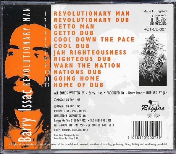 OPDK²: Barry Issac - Revolutionary Man (Reggae On Top CD, 1995)