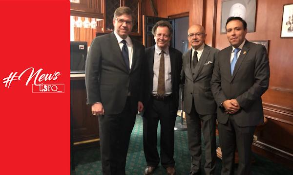 La USFQ fue sede de importante conferencia sobre Ética y transparencia en los negocios