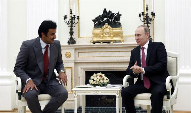 في ظل الازمة الخليجية .. أمير قطر في زيارة إلى روسيا