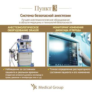 пластика и наркоз,  анестезия в корее, безопасная операция, пластическая операция в корее