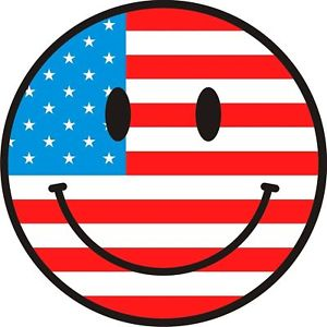 US Flag Smiley
