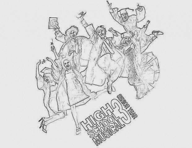 Free Printable Coloring Pages High School Musical