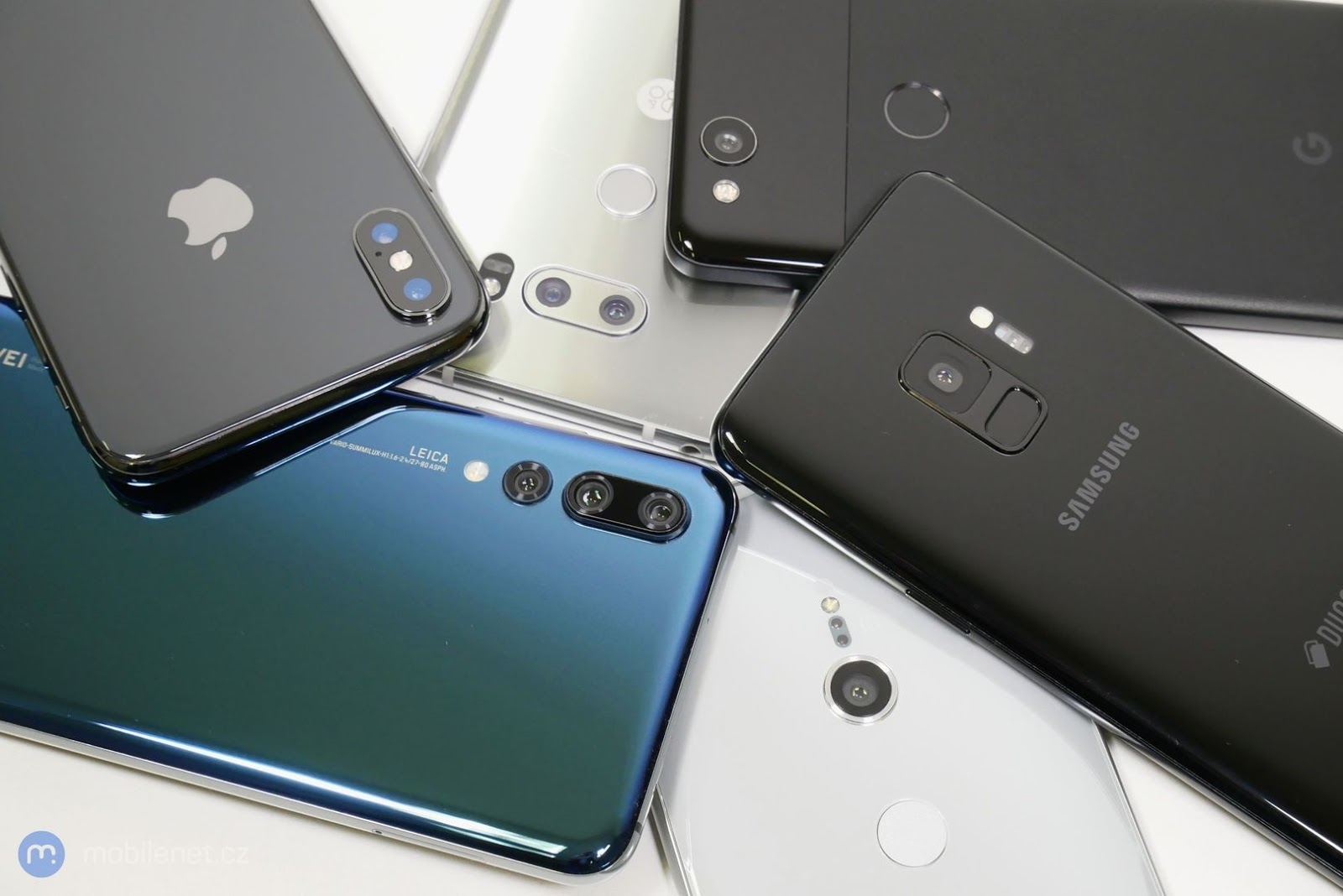 phones with glass body