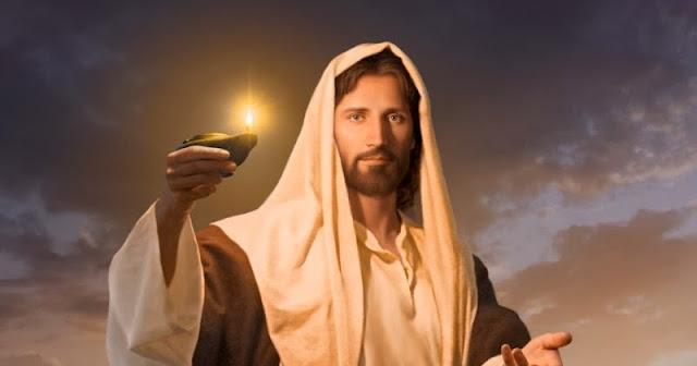Jesús luz del mundo neoatierra