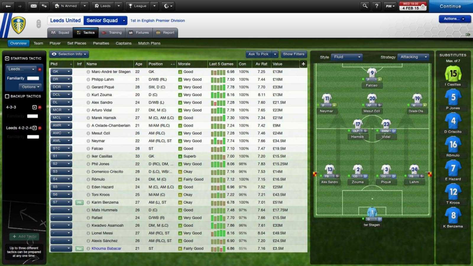 تحميل لعبة Football Manager 2015 مضغوطة برابط واحد مباشر كاملة مجانا