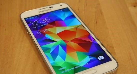 Lector de huellas sin deslizamiento en el Samsung