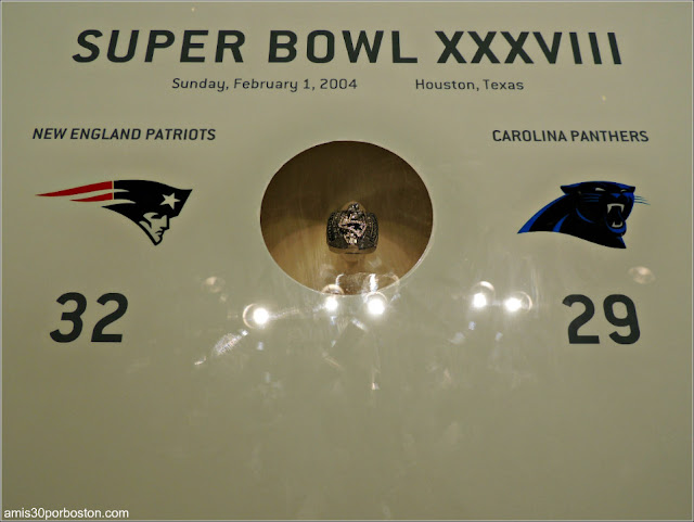 Anillo Super Bowl XXXVIII