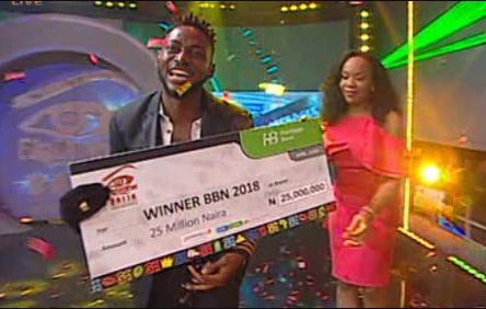 BBNaija Winner: Miracle Igbekwe Wins Big Brother Naija 2018 #BBNaija2018