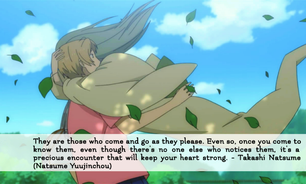 Natsume's Book of Friends Quotes
