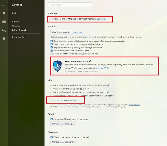 Tips & Trick Langkah Sederhana Aktifkan Feature VPN di Alat Penelusur Opera Browser