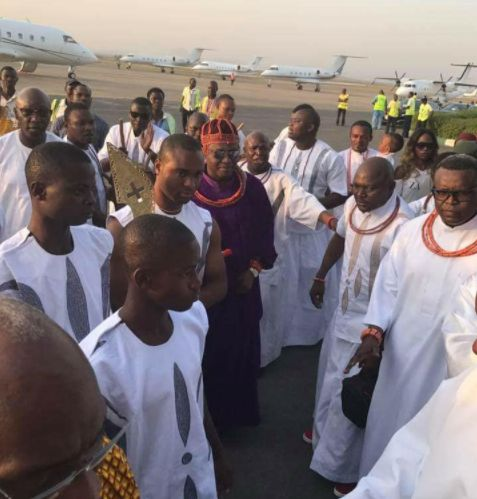 Oba of Benin, High Chiefs Arrive Abuja For A Historic Visit