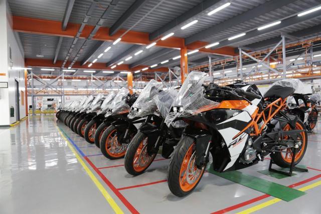 KTM Bina Kilang Motorsikal Baru Di Filipina