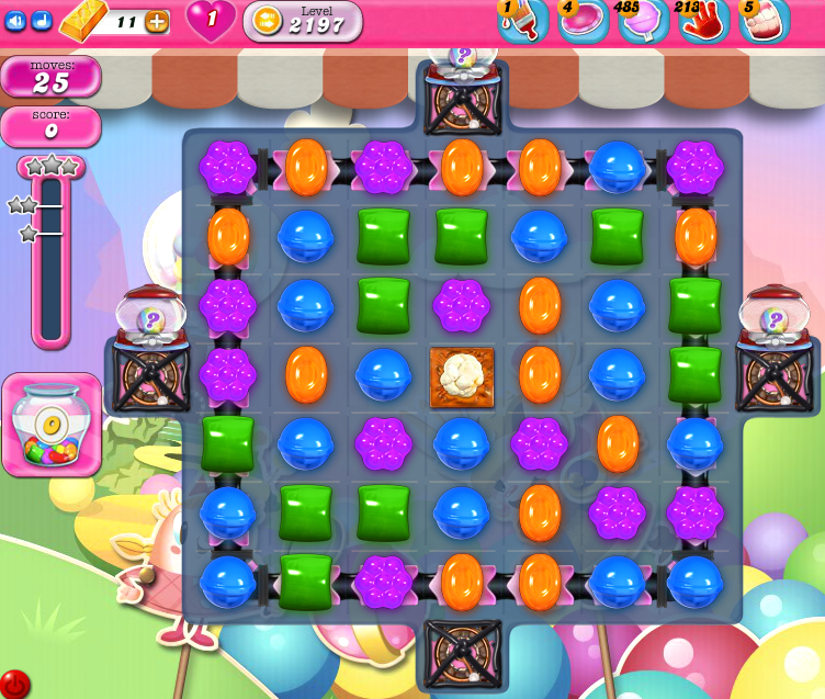 Candy Crush Saga level 2197