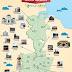 Peta Objek Tempat Wisata Kota Medan untuk Pelancong